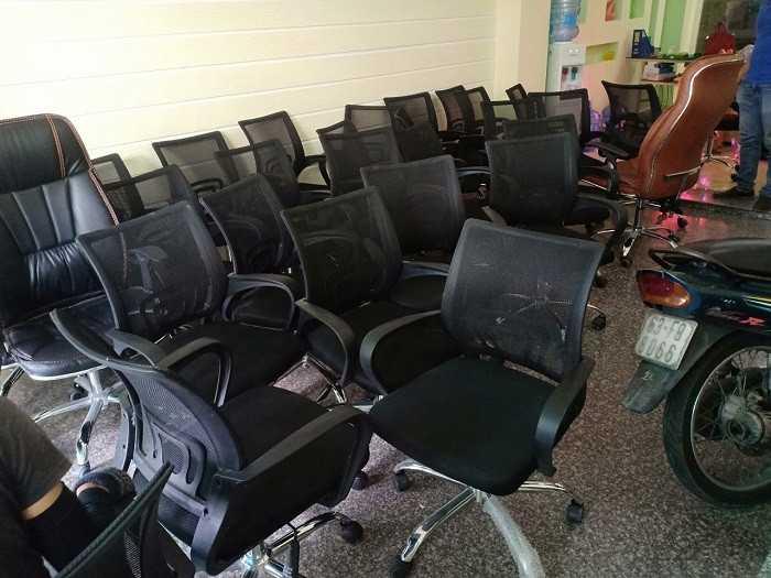 Thanh lý ghế xoay văn phòng cũ giá rẻ tại Thanhlytot