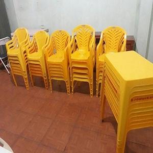 Bàn ghế nhựa quán ăn củ giá rẻ TPHCM
