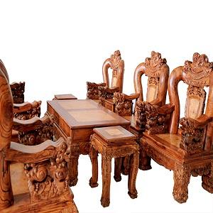 salon gỗ cũ giá rẻ tại TPHCM