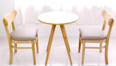 Bàn ghế gỗ cafe giá rẻ tphcm