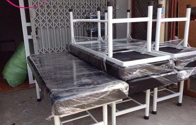 Mẩu giường massage chân sắt giá rẻ tại Thanhlytot