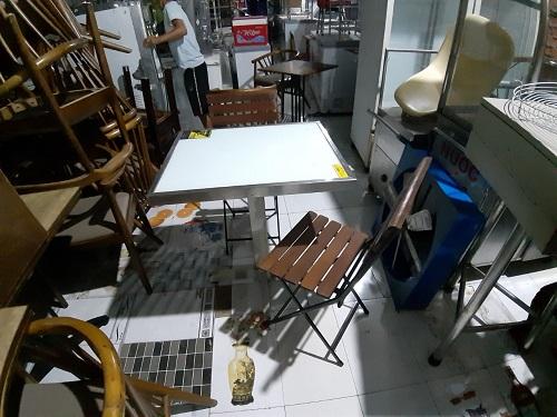 Bàn ghế nhà hàng thanh lý giá rẻ uy tín chất lượng tại TPHCM