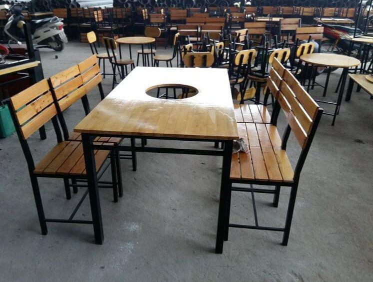 bàn ghế quán ăn thanh lý giá rẻ
