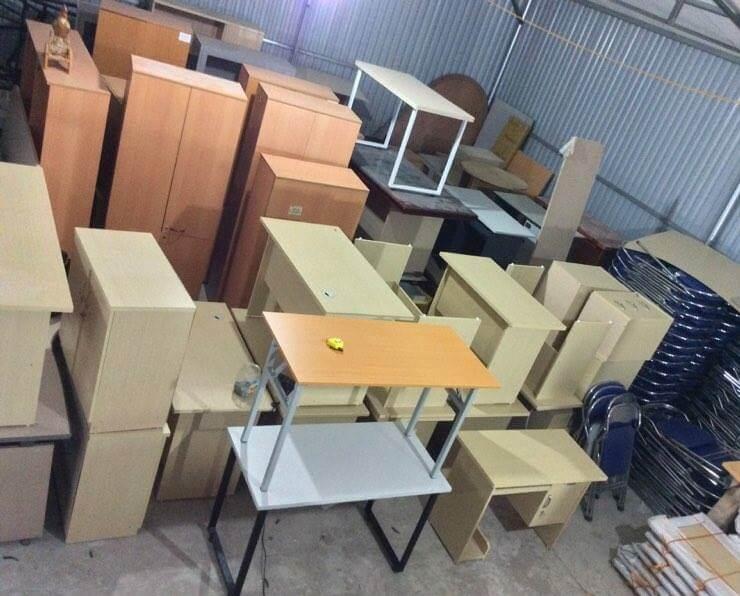 Kho bàn ghế văn phòng thanh lý giá rẻ tại TPHCM