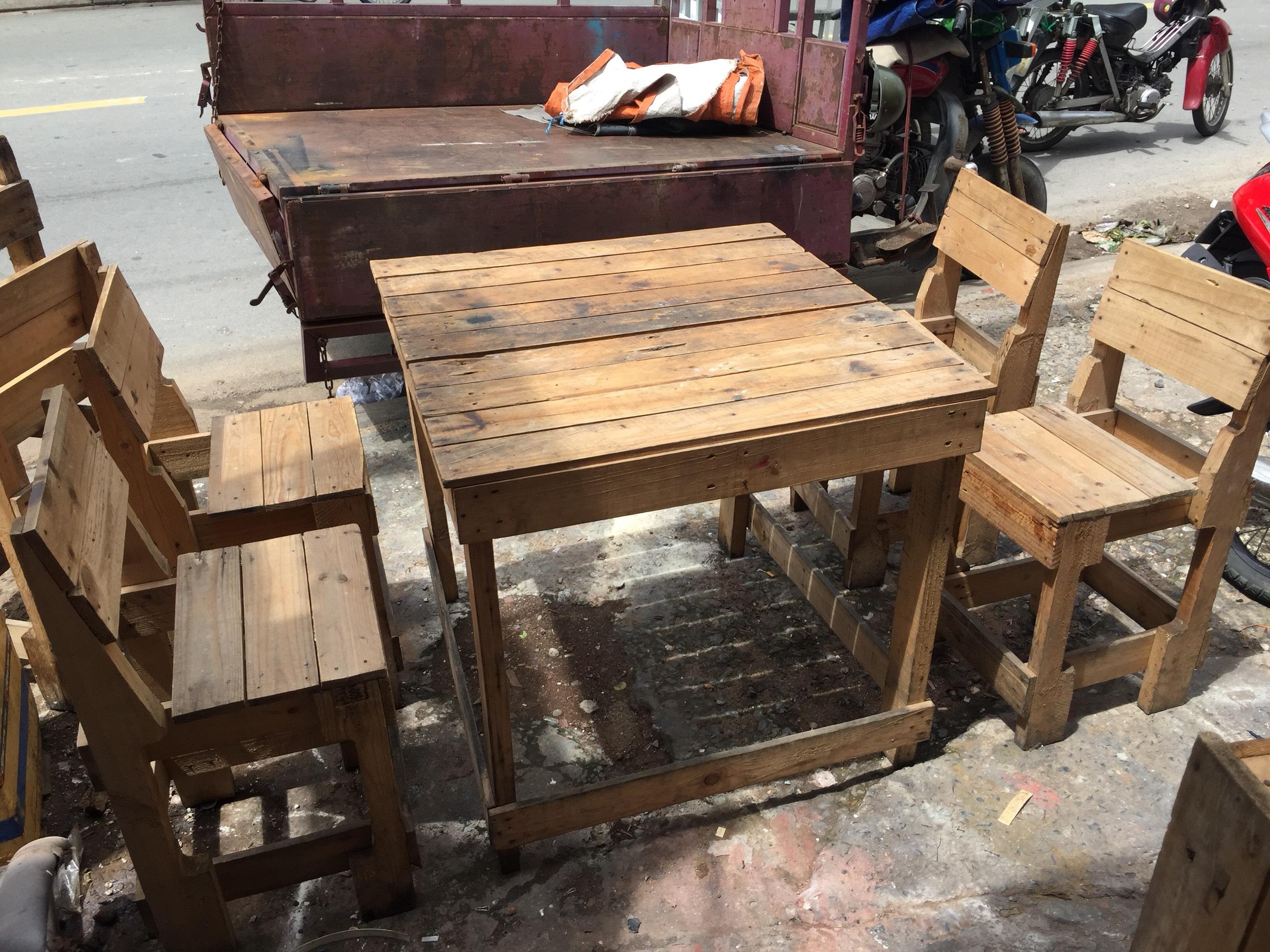 Thanh lý bàn ghế cafe cũ giá rẻ tại Thanhlytot