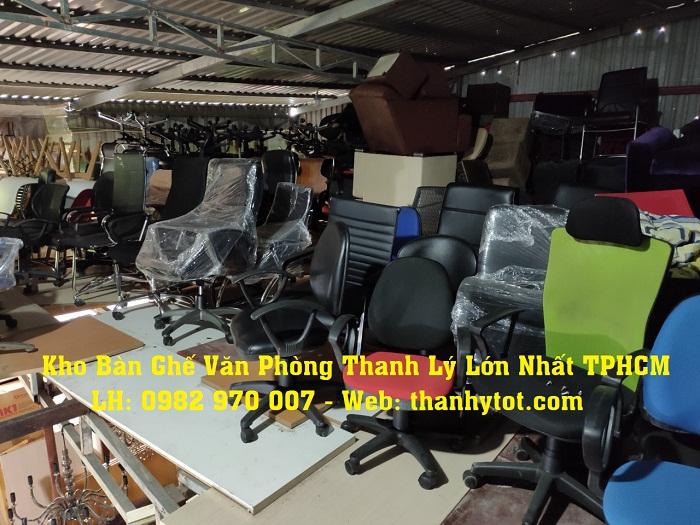 Bàn ghế văn phòng thanh lý giá rẻ tại Thanhlytot.com