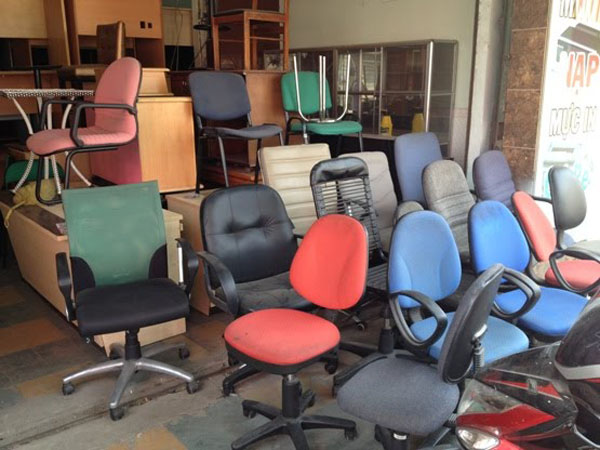 ghế văn phòng cũ thanh lý giá rẻ
