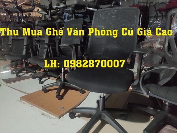 Các loại ghế văn phòng thu mua tại TPHCM