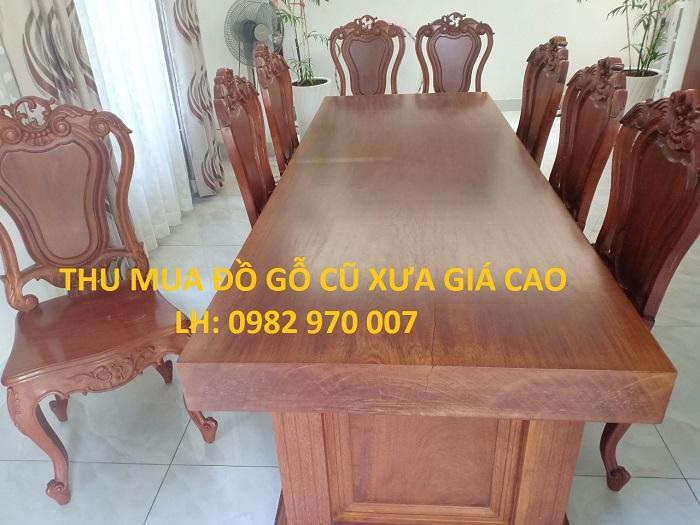 Thu mua đồ gỗ cũ giá cao tại TPHCM