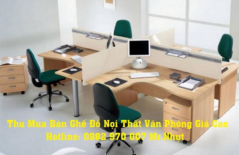Thu Mua Bàn Ghế Văn Phòng Cũ Giá Cao 0982970007