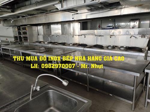 THU MUA ĐỒ INOX - THIẾT BỊ - BÀN GHẾ NHÀ HÀNG GIÁ CAO TPHCM