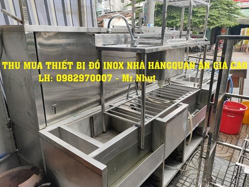 thu mua - thanh lý đồ inox thiết bị bếp nhà hàng giá cao