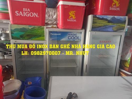 thu mua tủ đông tủ mát nhà hàng giá cao tại TPHCM
