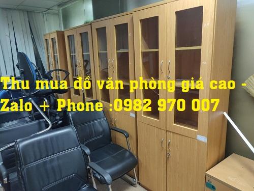 Thu mua đồ nội thất văn phòng cũ giá cao uy tín tại TP.HCM