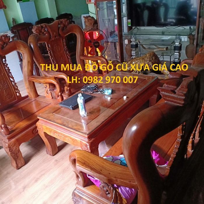 Cửa hàng thu mua đồ gỗ cũ tại Tp.HCM