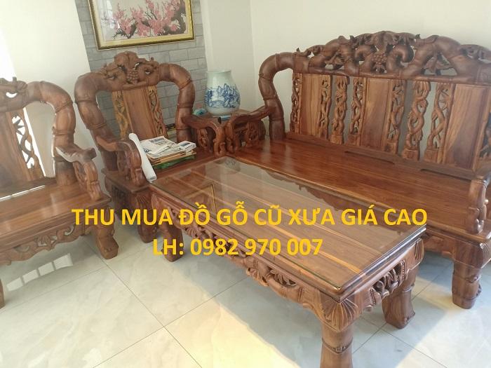 Thu mua đồ gỗ cũ xưa giá cao uy tín số 1 tại Tp.HCM