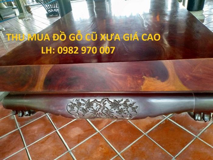 Mua đồ gỗ cũ giá cao tại TpHCM - 0982970007